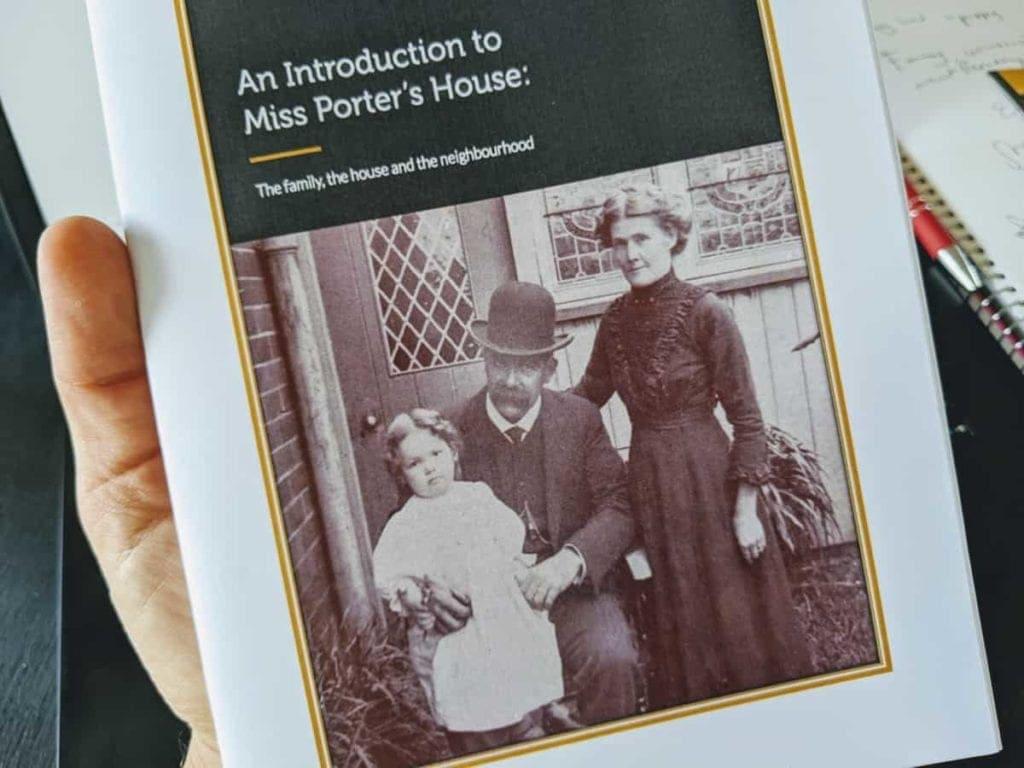 Miss Porters House Brochure