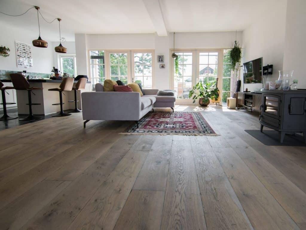 Legrichting planken vloer