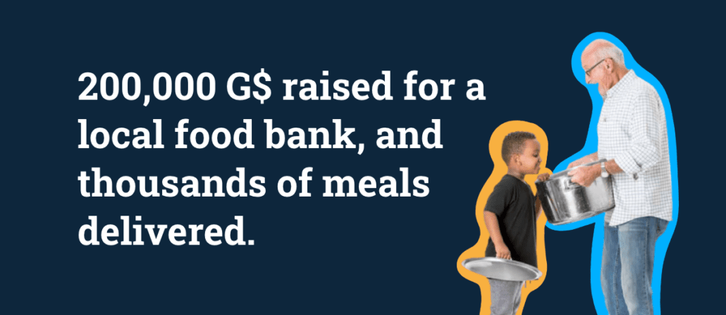 Pesia's Kitchen is feeding hungry families in Israel thanks to G$ donations sent to his GoodDollar wallet.