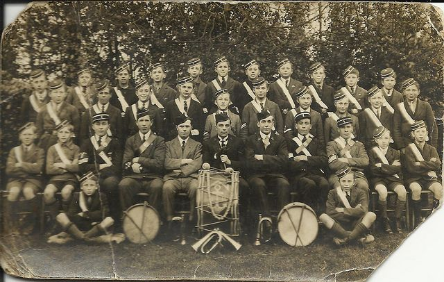 Picture: Oulton Broad Boys' Brigade circa 1930. Picture sourced from Flickr and credited to jelltecks - 5339123169. Reproduced under a Creative Commons Attribution-NonCommercial 2.0 Generic (CC BY-NC 2.0) licence.