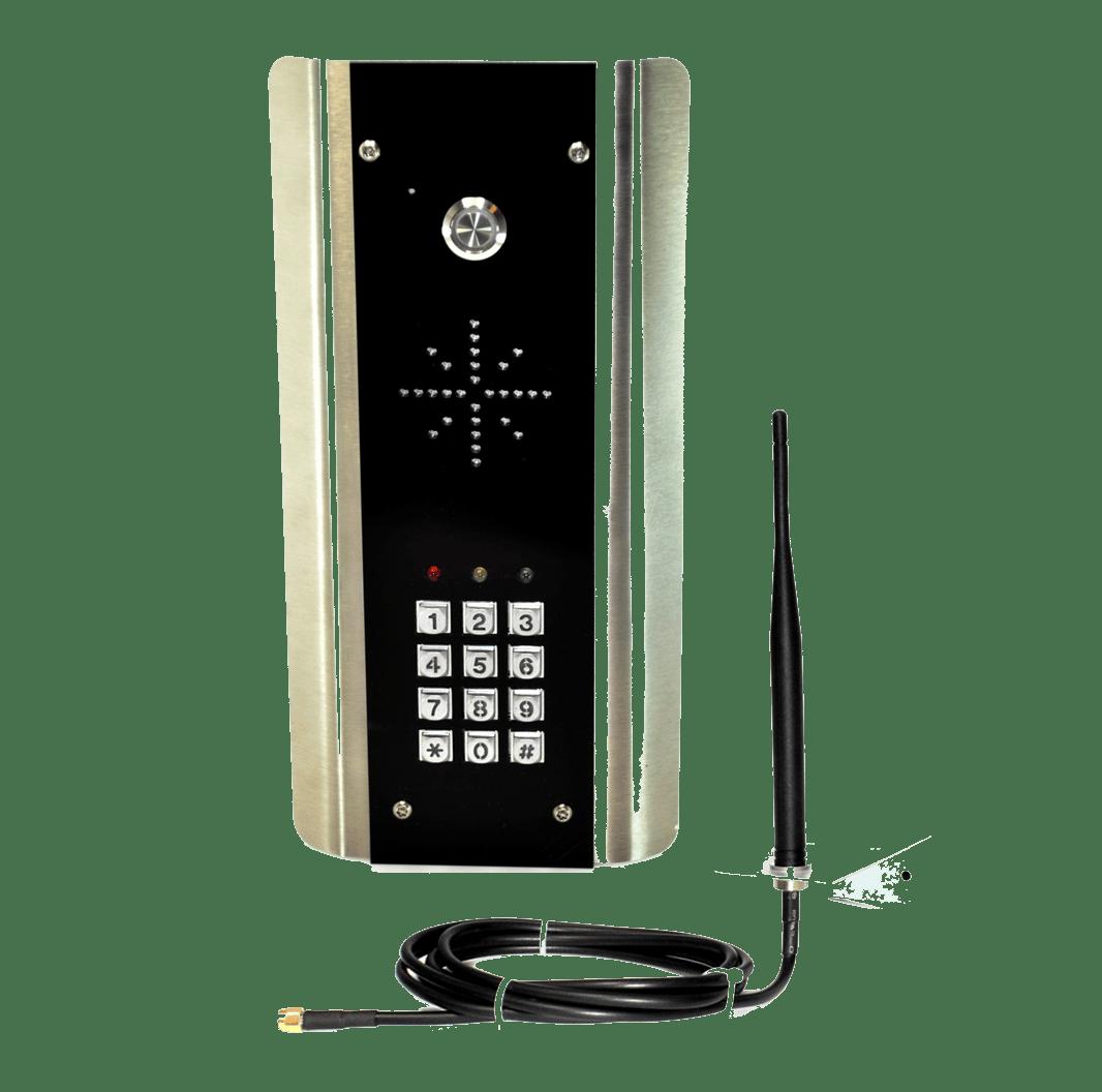 Draadloos intercom systeem met GSM technologie