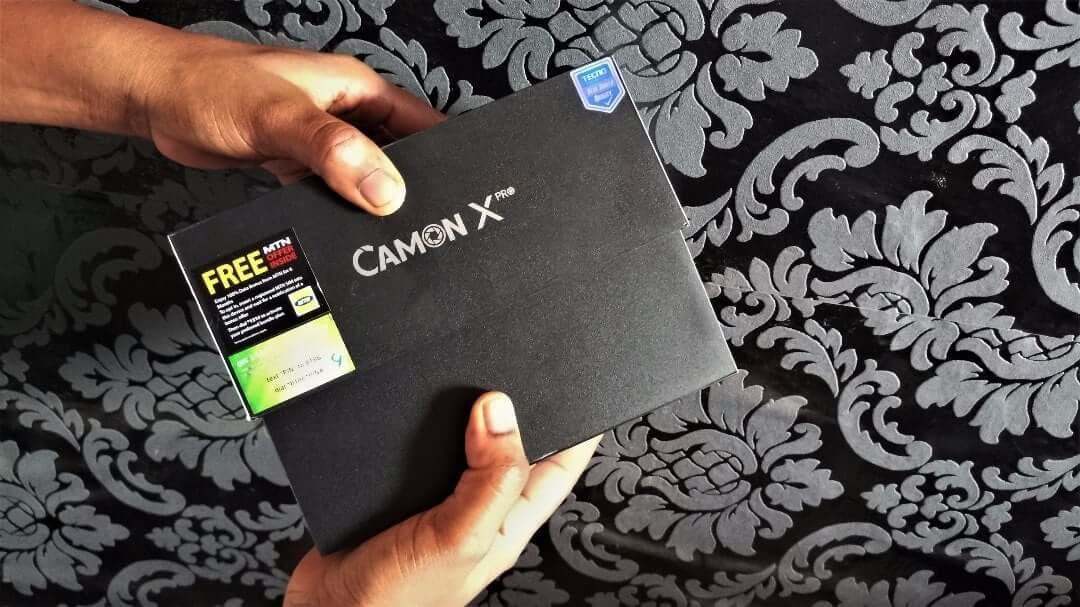 Camon X Pro unboxing 2