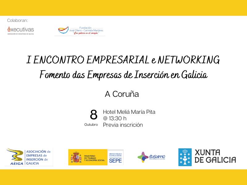 I Encontro Empresarial e Networking de Executivas de Galicia e AEIGA