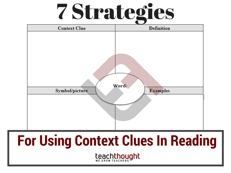 7 Strategies For Using Context Clues In Reading