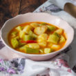 Zuppa di patate e zucchine Bimby