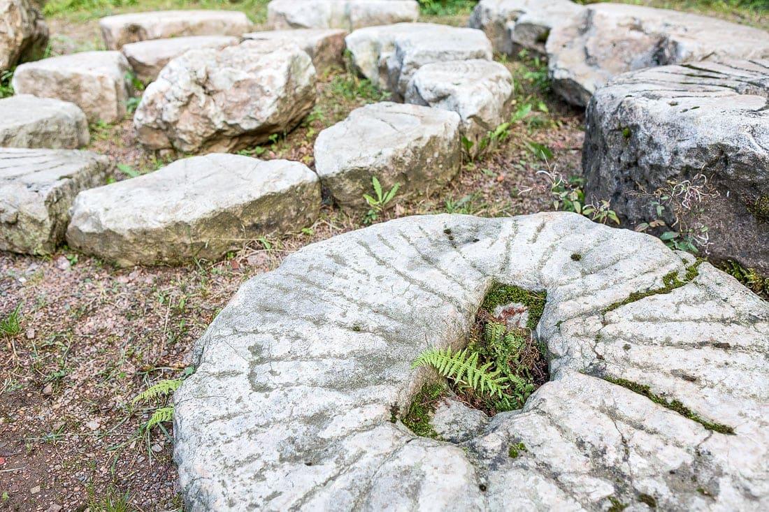 6 - Bergschmiede Zinnwald, Montane Kulturlandschaft Erzgebirge, UNESCO Weltkulturerbe, Montanregion, Bilder Bergbau, Fotos Architektur