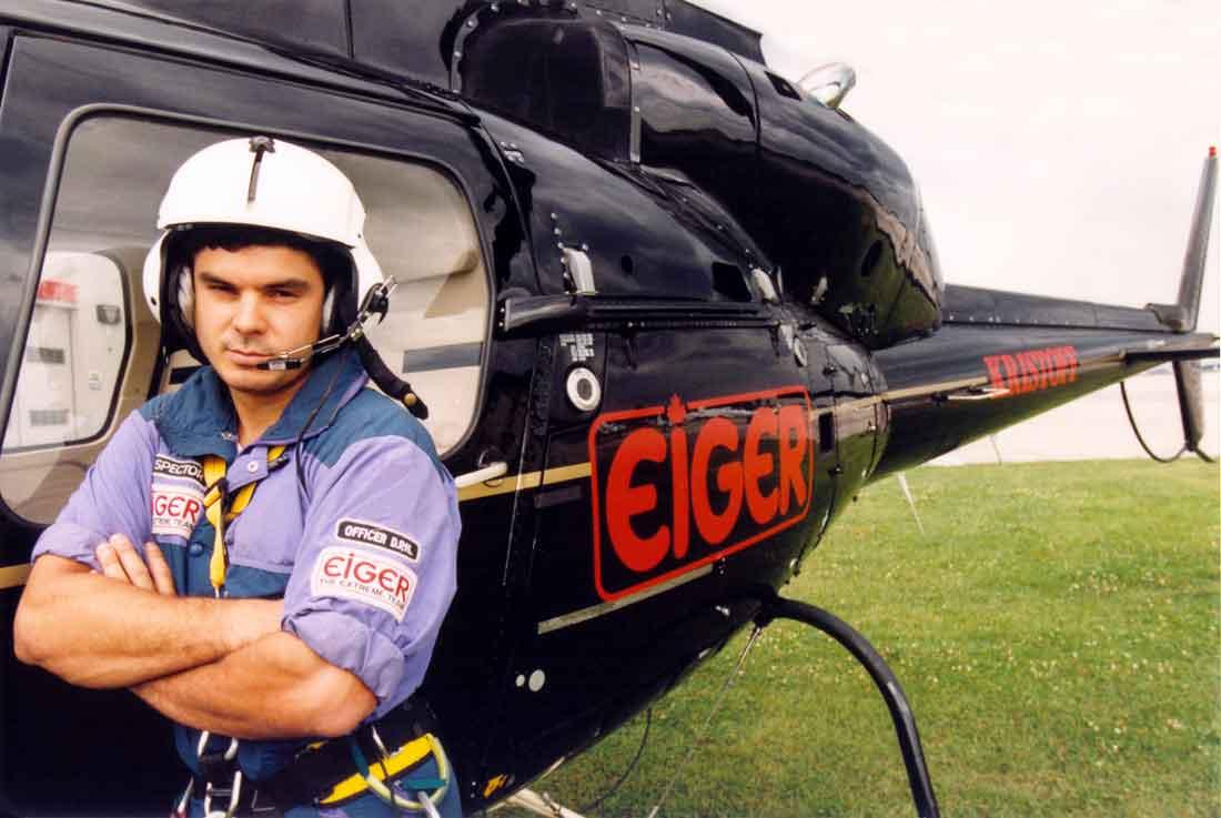 Хеликоптера на Иван Кристоф