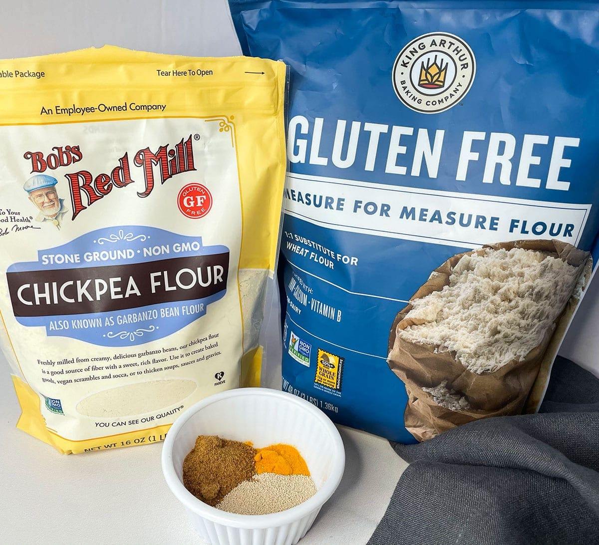 gluten-free flour for making doubles flatbread