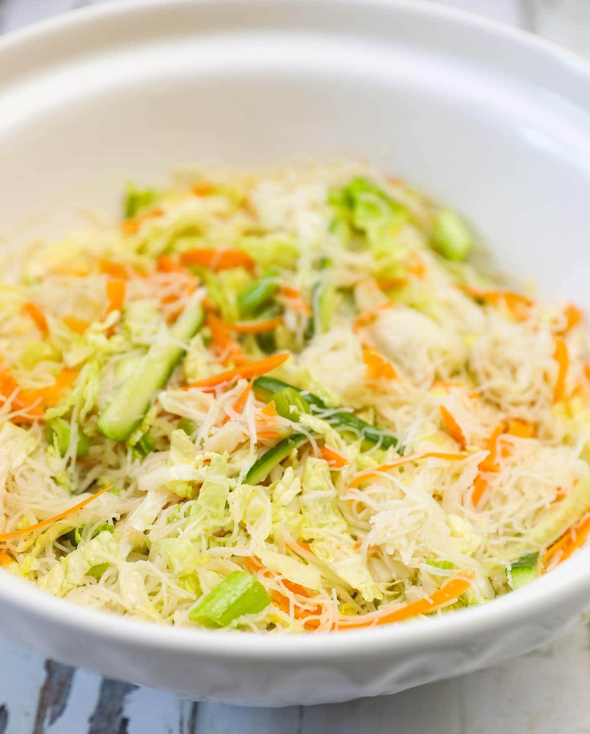 napa cabbage bowl