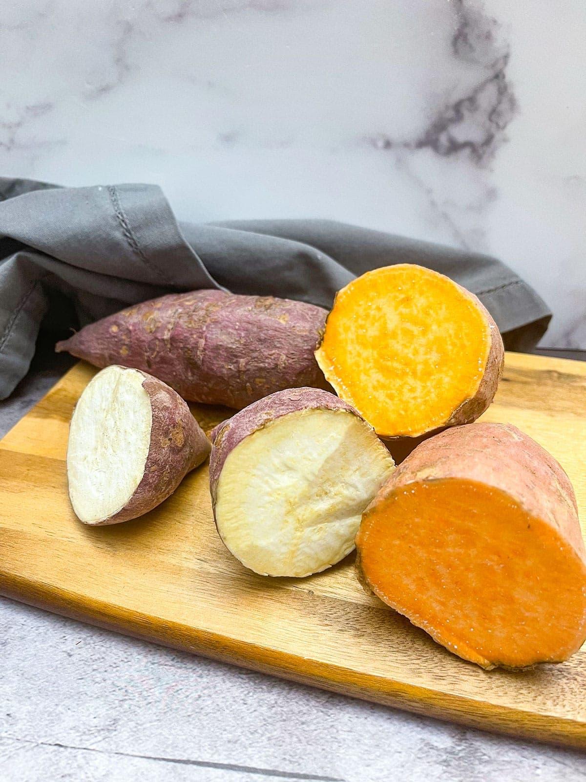 Difference Between An Orange Sweet Potato And White Sweet Potato