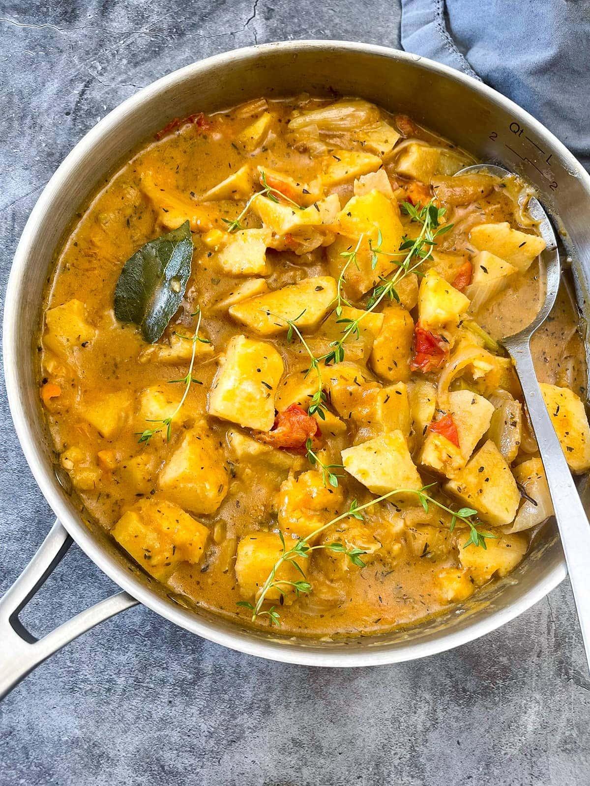 White Yam Stew