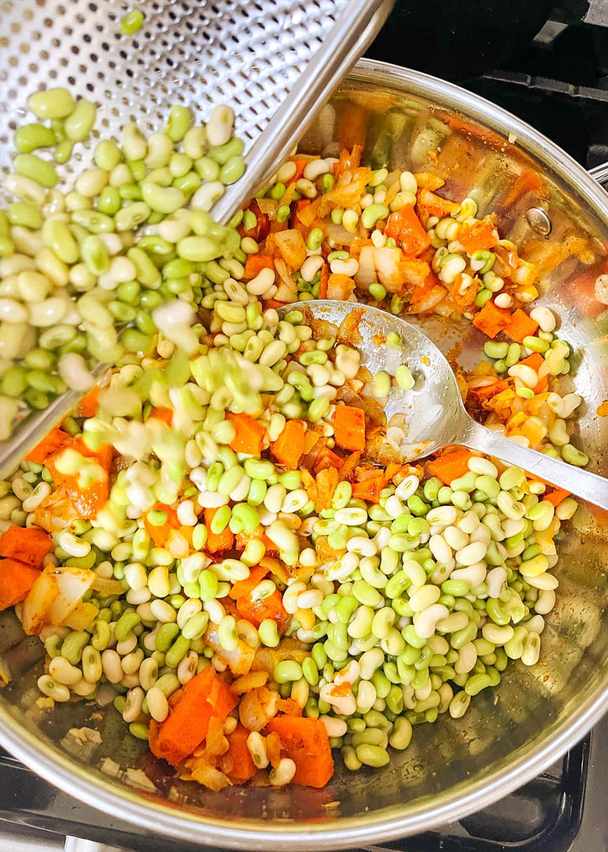 cooking white acre peas