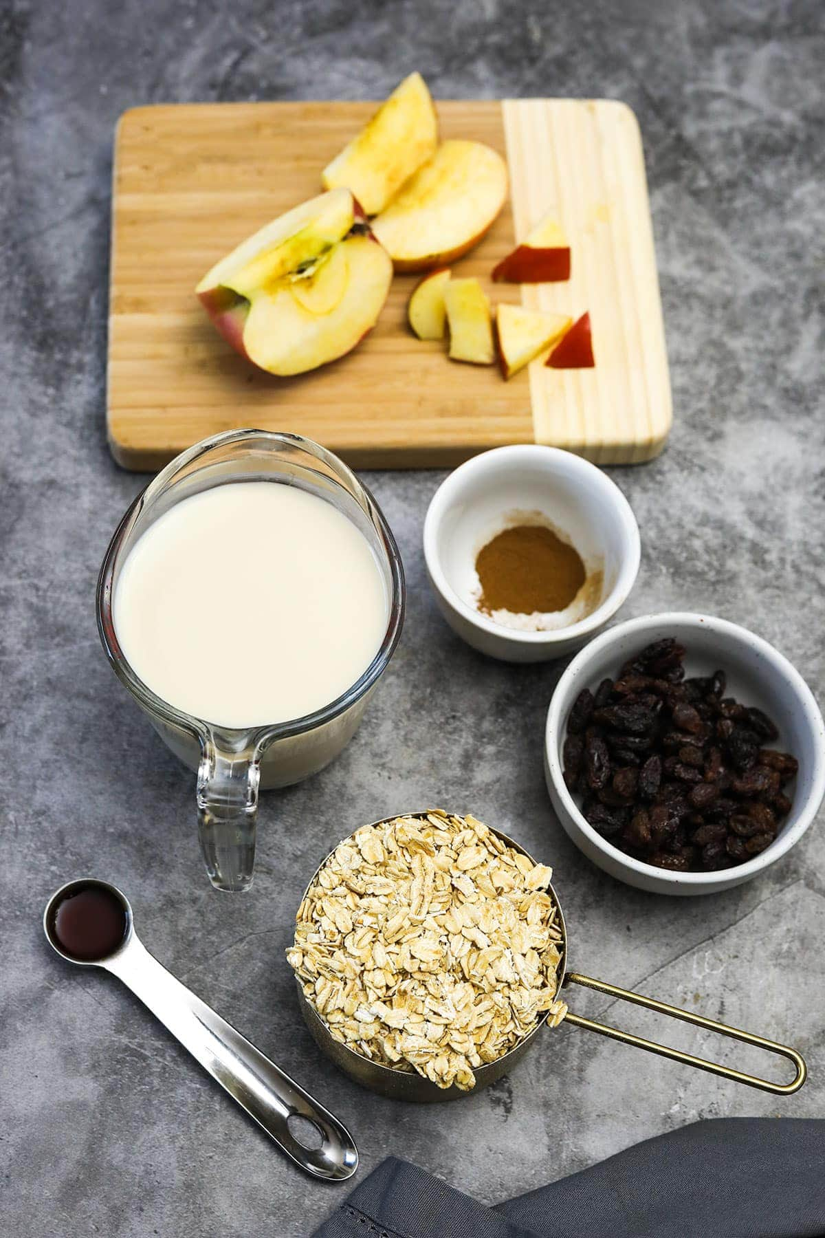 ingredients that are in the slow cooker oatmeal