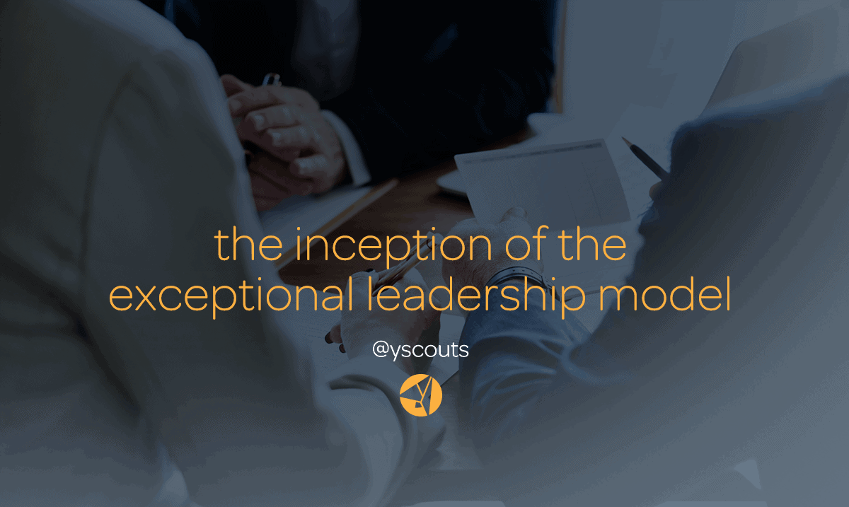 the inception of the exceptional leadership model