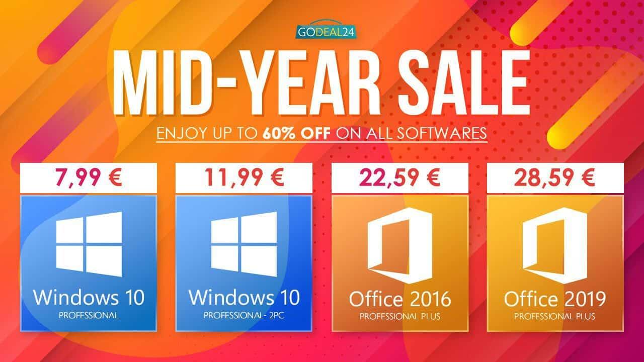 Windows 10 Pro Euros