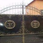 металлические ворота 7