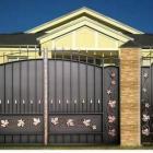 металлические ворота 2