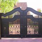 металлические ворота 4