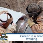 Welding advertisement for Greater Johnstown Career and Technology Center