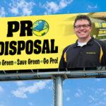 Pro Disposal billboard