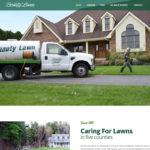 Screenshot of Beauty Lawn website