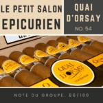 Le salon des Epicuriens - Quai d'Orsay 54