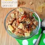 Tropical Coconut Oil Granola