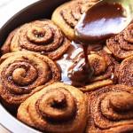 Whole Wheat Gingerbread Cinnamon Rolls
