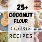 Coconut Flour Cookie Recipe Collage