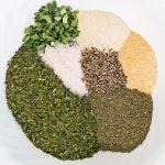 Ranch Seasoning Ingredients in a bowl