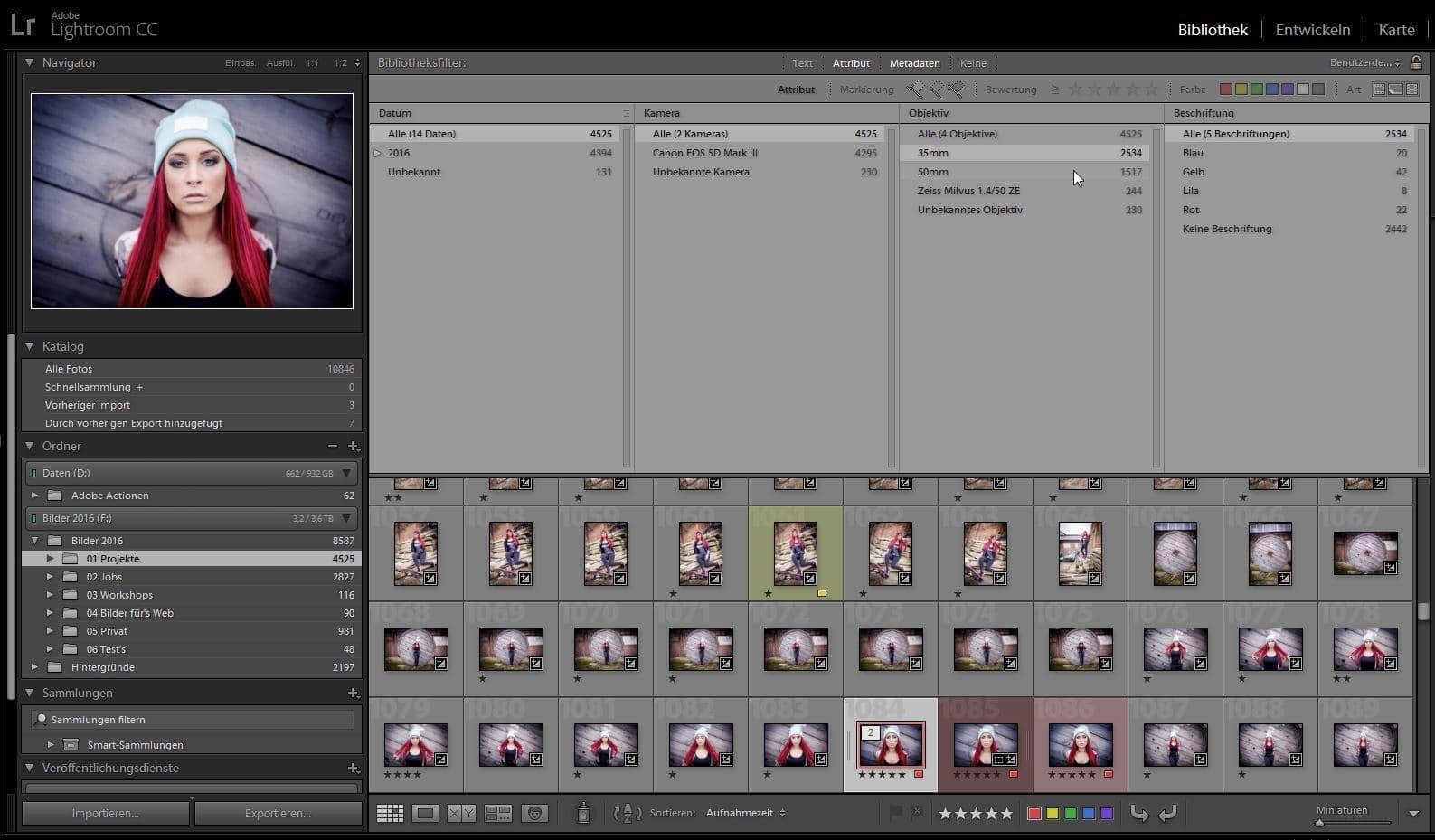 portrait brennweite, portraitfotografie, sigma art 35mm, 50mm Objektiv, Lightroom