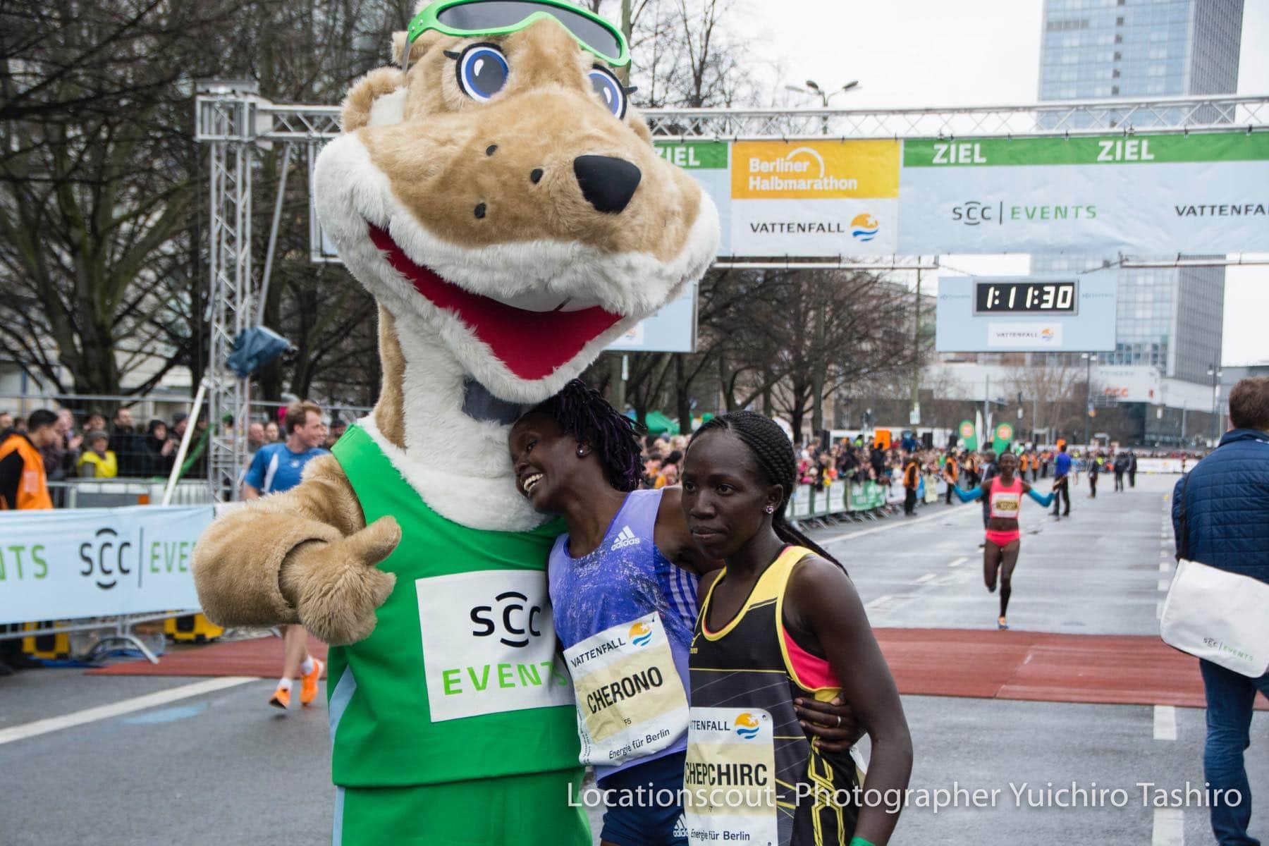 Berliner Halbmarathon ベルリンハーフマラソン