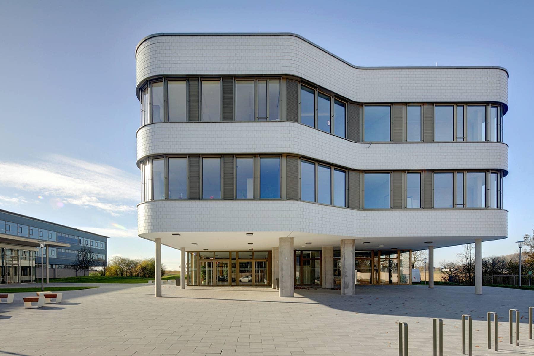 Berufliche Schule Bad Krozingen Stirnseite