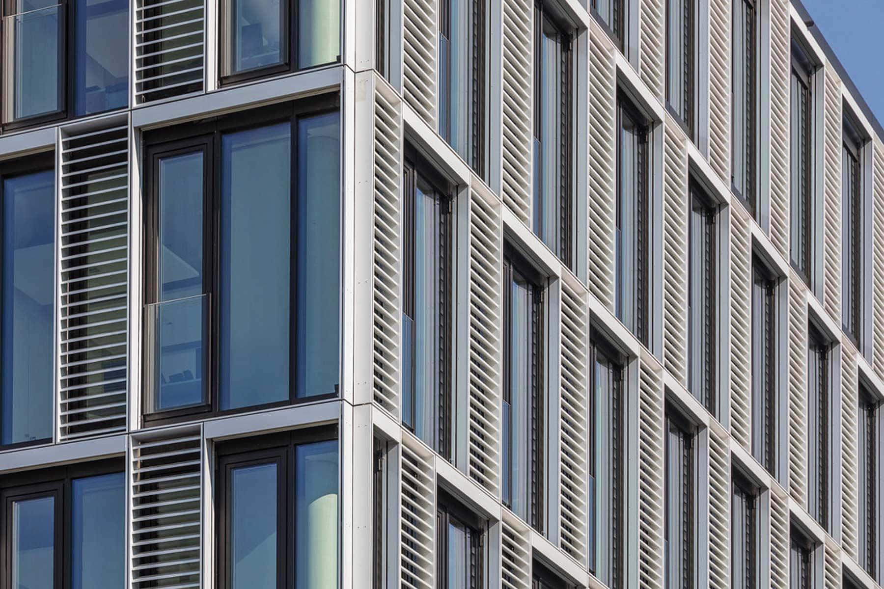 Landratsamt Rosenheim Fassade Detail