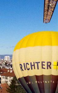 С първия полет с топловъздушен балон искаме да открием Деня на доброволеца Спасител