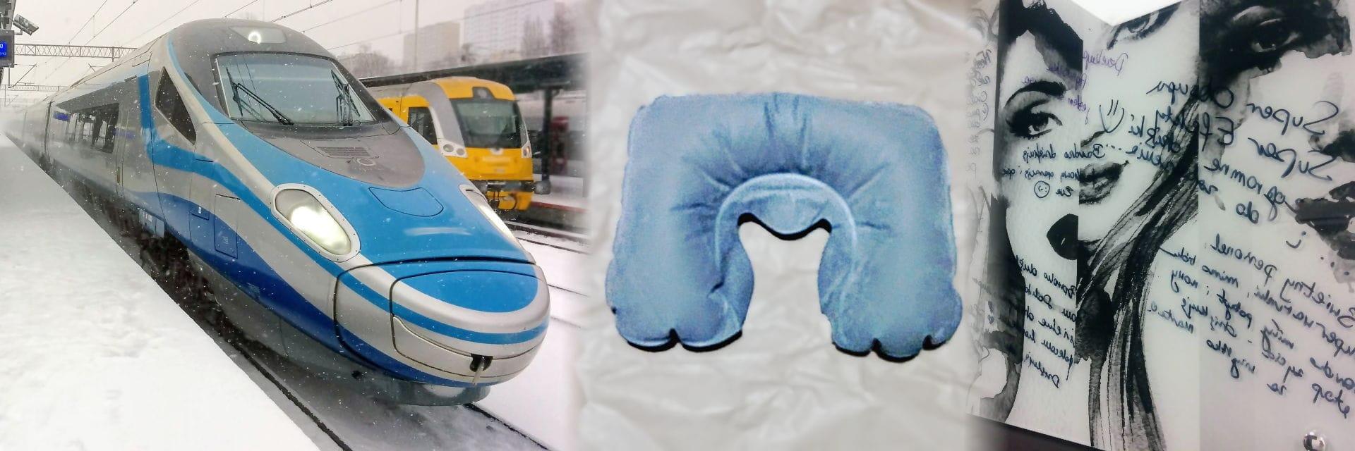W drodze na kontrolę - szczupak i U-kształtna poduszka