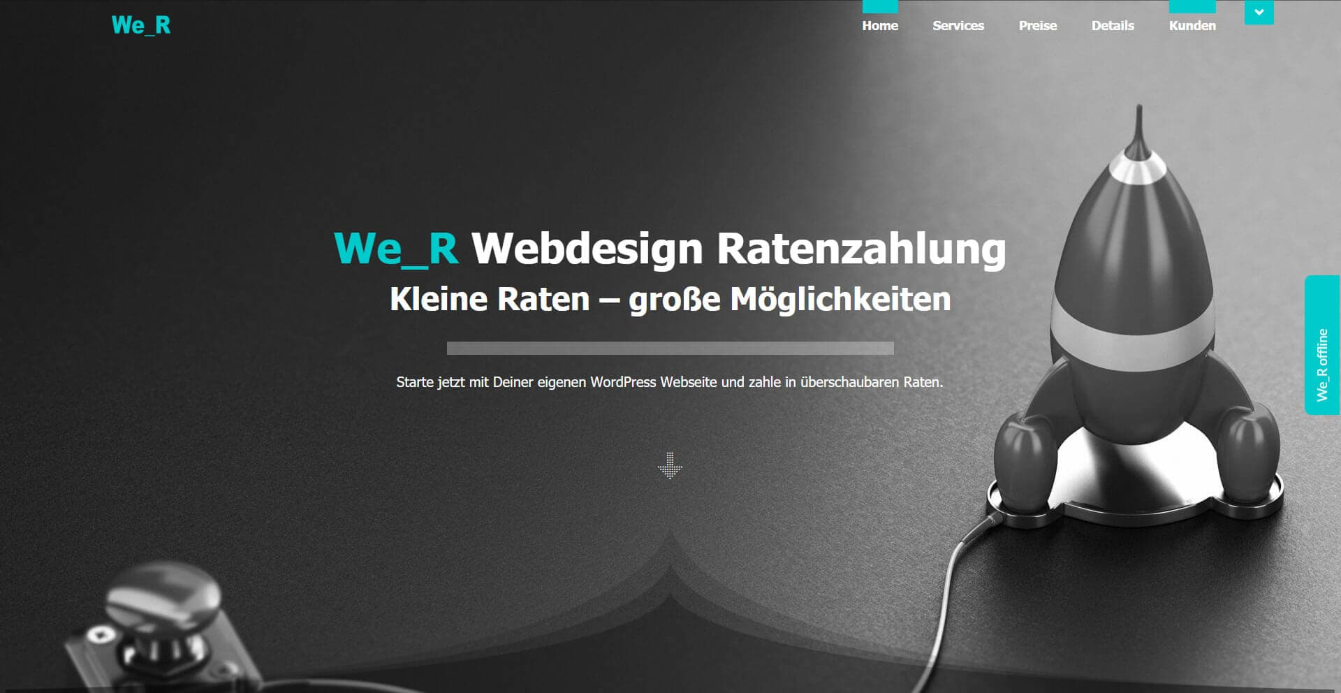 We_R Webdesign Ratenzahlung