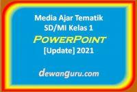media ajar tematik sd-mi kelas 1 powerpoint [update] 2021