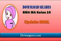 download silabus SMA MA kelas 10 update 2021
