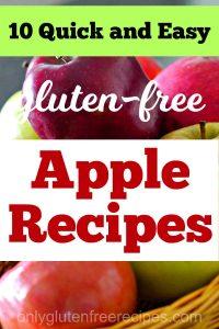 easy gluten free apple recipes