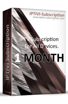 IPTV Subscription - IPTIVI Subscription - 1 Month - IPTV PACK