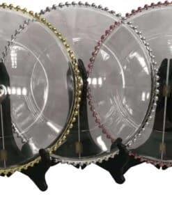 Glass Beaded Underplate