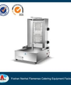 gas shawarma machine 2 burner