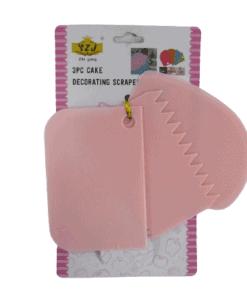 cake decorating scraper set