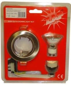 Downlight Fixed Kit 240V