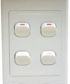 Four Lever Switch 4 x 2 inch