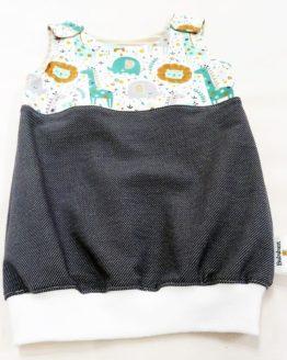 Kleidchen Jeanslook Zootiere