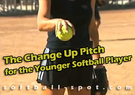 change up pitch for youonger players