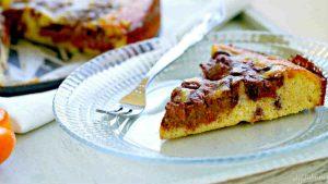 paleo, cake, apricot
