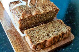 lemon, poppy seeds, loaf, cake